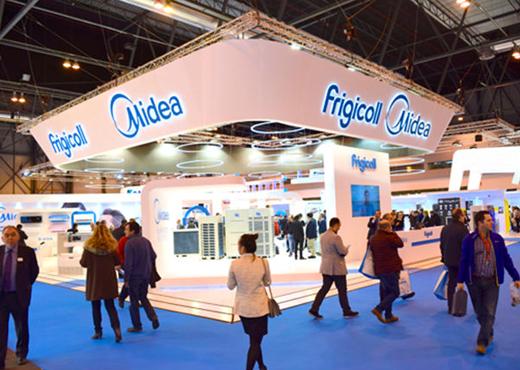 Frigicoll distribuirá en España los equipos de aire acondicionado Midea, líder mundial en aparatos de tratamiento de aire
