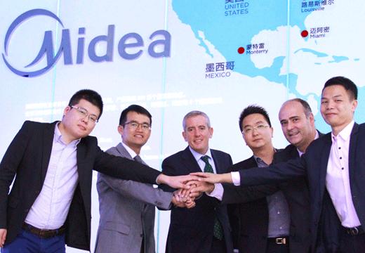Frigicoll presenta por primera vez la gama de aire de Midea en la Feria Climatización y Refrigeración 2017