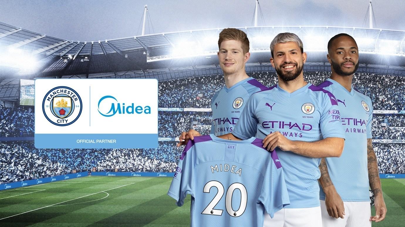Midea, el nuevo patrocinador del Manchester City