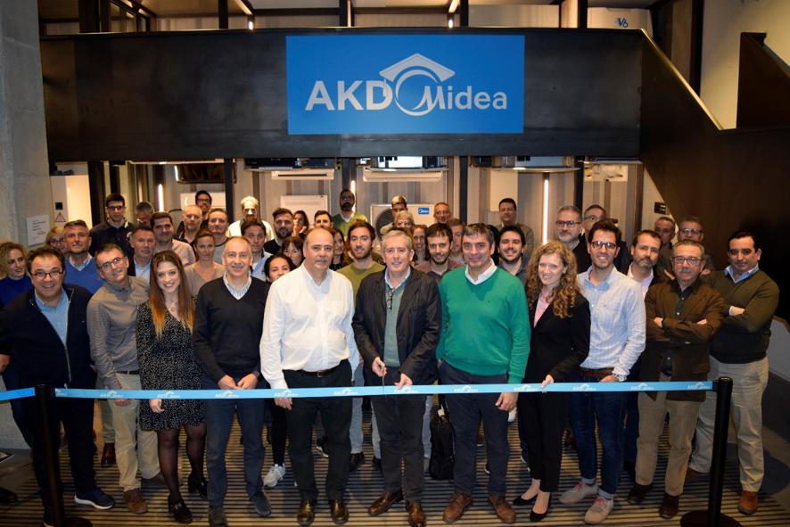 Frigicoll, distribuidor oficial de Midea, presenta el centro de formación AKD Midea
