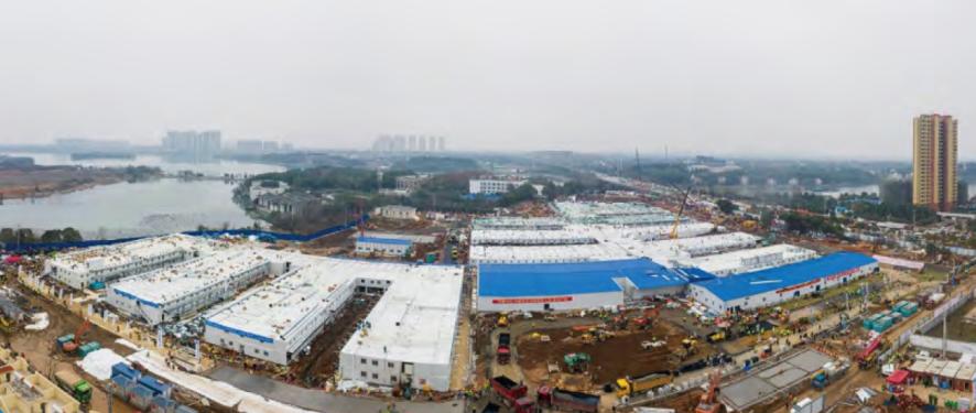 Midea equipa el nuevo Hospital de Wuhan construido para combatir el Coronavirus en tiempo récord