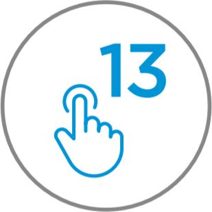 Numero de funciones 13