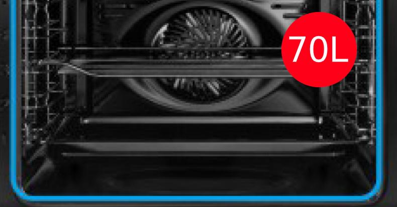 70 Litros de capacidad