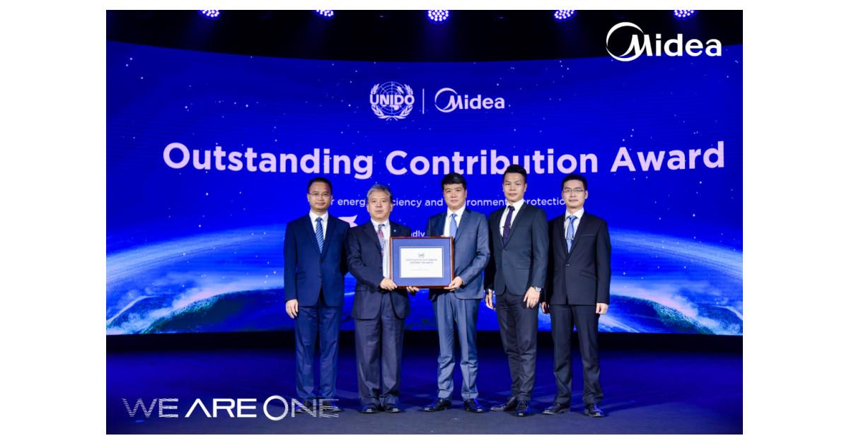 Midea premiada por UNIDO por sus esfuerzos por la protección del medio ambiente